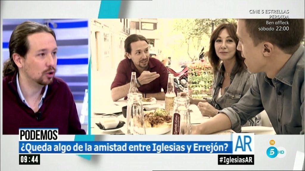 """Iglesias: """"No podemos ser Pimpinela, tenemos que discutir los problemas de la gente"""""""