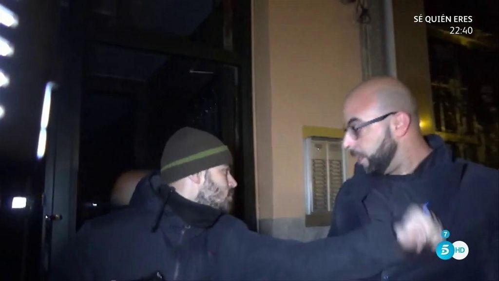 Uno de los guardaespaldas de Isabel Pantoja se encara con la prensa