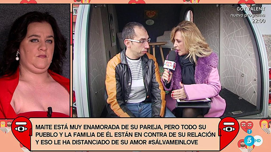Lydia Lozano, embajadora del amor en 'Sálvame in love'