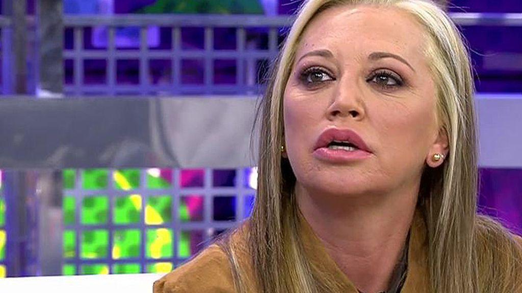 """Belén Esteban: """"María de Mora me llamó porque alguien quería cenar conmigo, dijo que se me pagaría y yo aluciné"""""""
