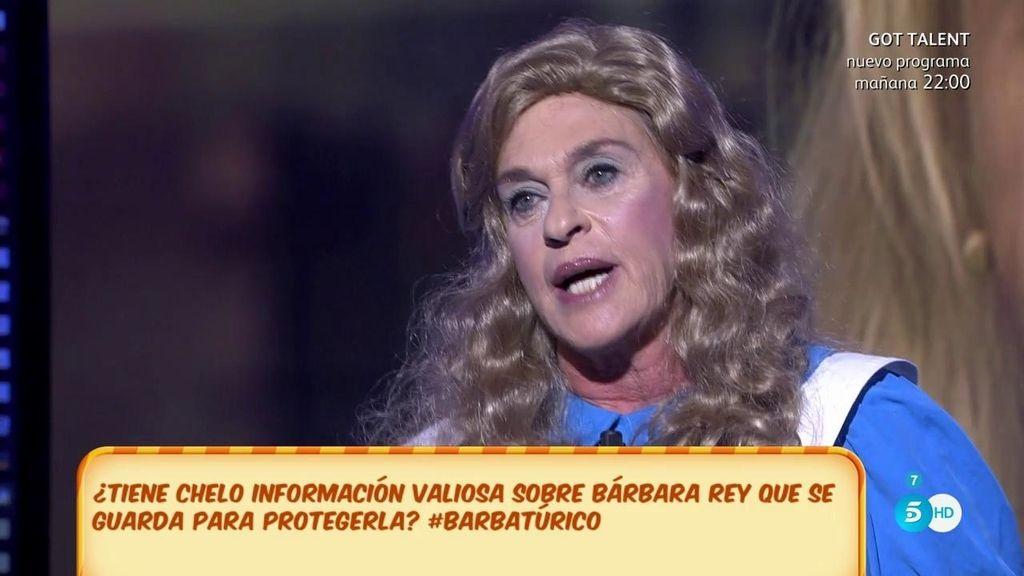 """Chelo, de Bárbara: """"Si me quiere demandar que me demande, pero arrugadita no voy a ir"""""""