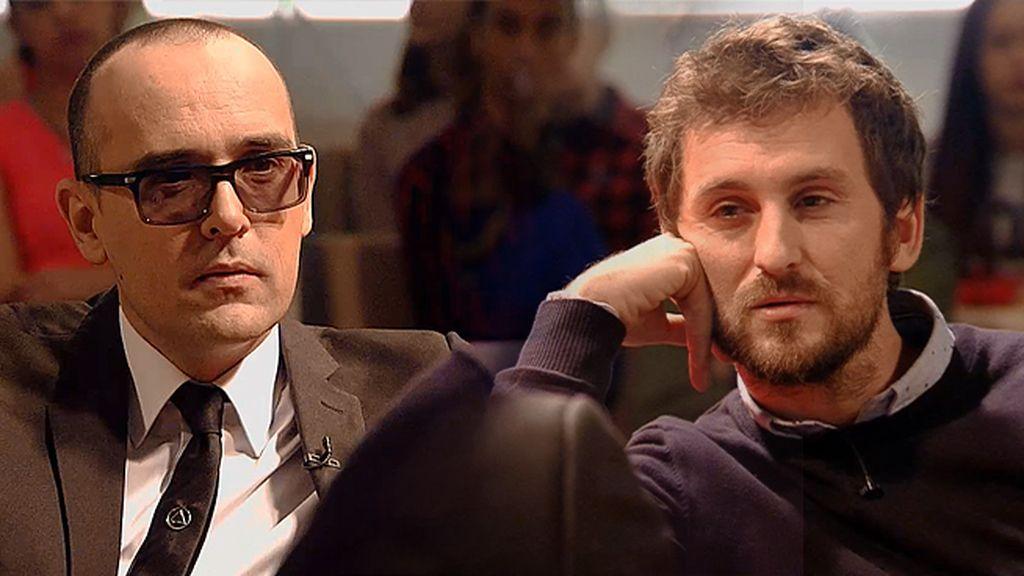 """Risto Mejide, sin filtros con Raúl Arévalo: """"Tienes cara de mala persona"""""""