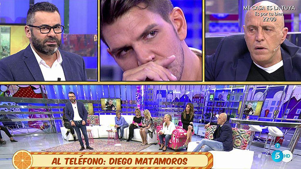 """Diego Matamoros, sobre su exrepresentante: """"Si pudiera hablar, sería una bomba nuclear"""""""