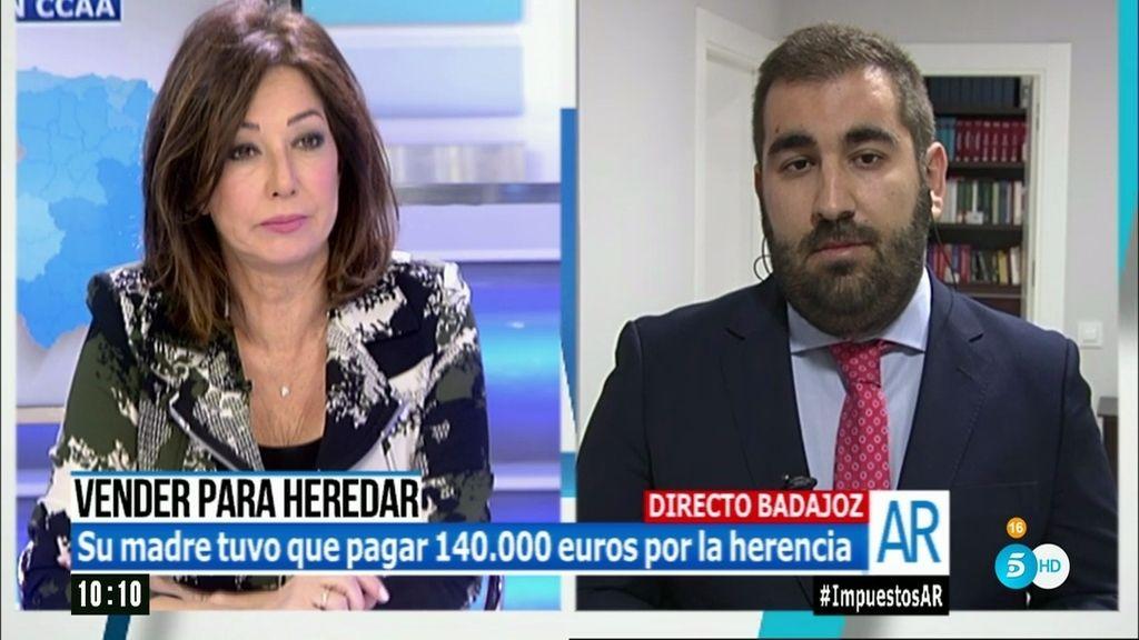 """Fernando Cumbres: """"Es mentira que el impuesto de sucesiones sea un impuesto 'Robin Hood"""""""