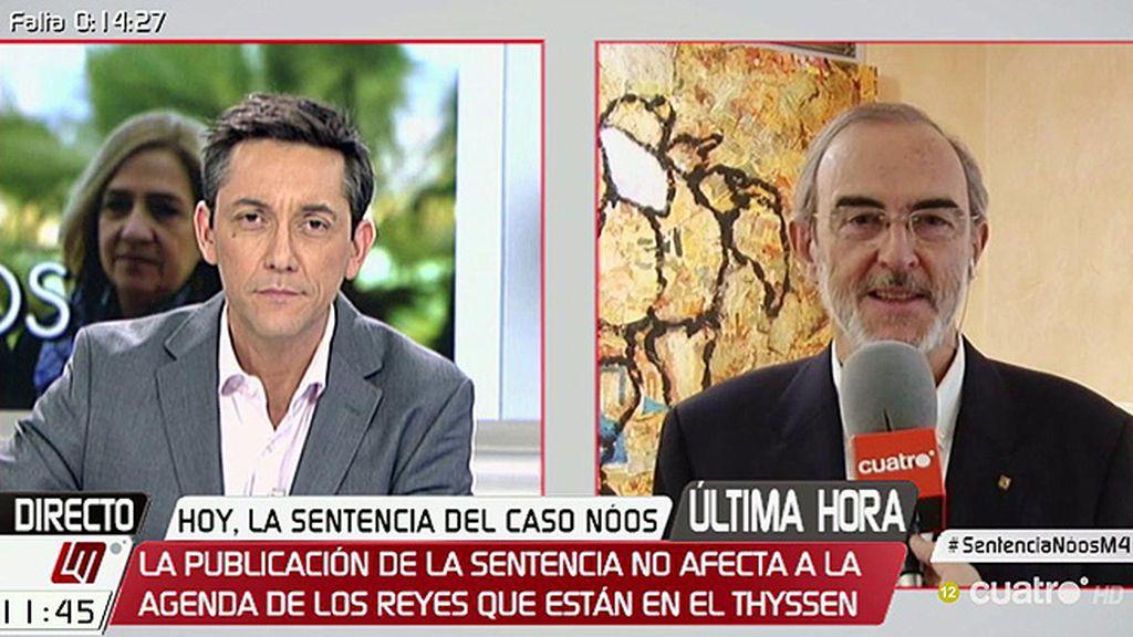 Caso Nóos: Entrevista a Antonio Diéguez, exdiputado  que denunció el caso