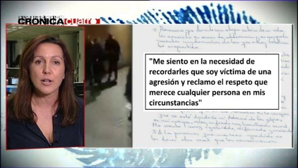 La joven agredida en Murcia se defiende: los cuatro puntos de su carta a los medios