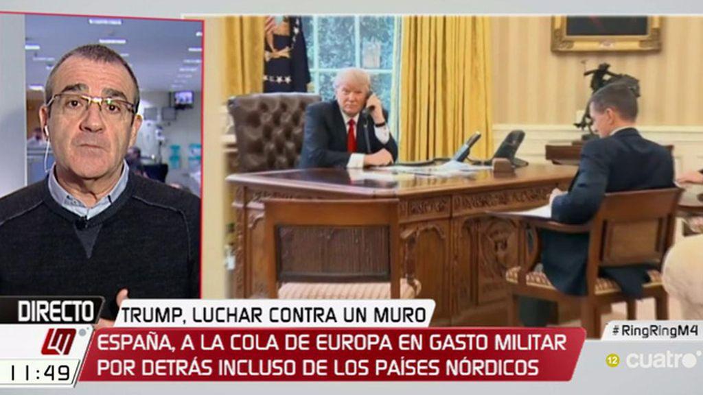 """Yllanes: """"Confío en que el Gobierno no se deje llevar por las bravatas de Trump"""""""
