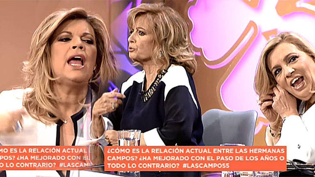 """Carmen: """"Vosotras cambiasteis de vida, ibais a muchas fiestas, y yo me quedé igual"""""""