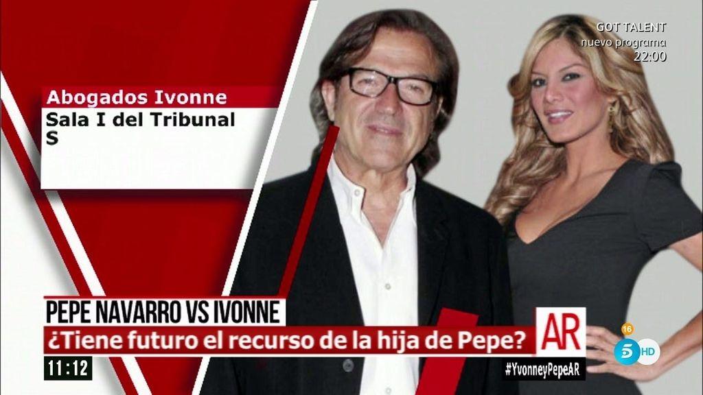 ¿Tiene futuro el recurso de la hija de Pepe Navarro?