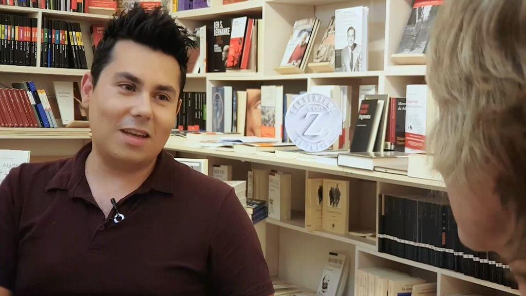 """Carlos Pérez: """"Este libro me dio valor para dejar la criminología y ser más feliz"""""""