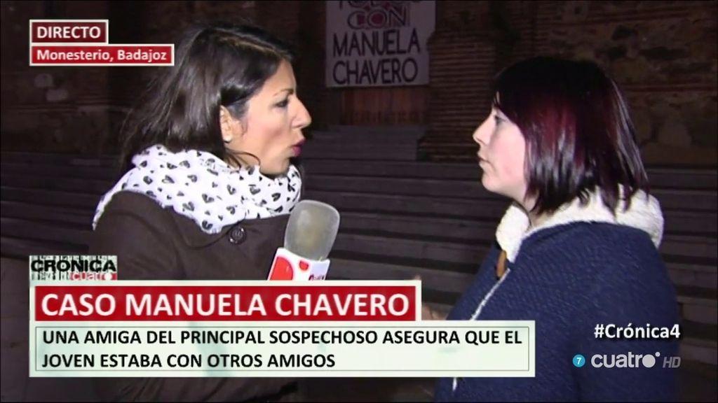 """Amiga del sospechoso del Caso Manuela Chavero: """"No es agresivo y sí cariñoso"""""""