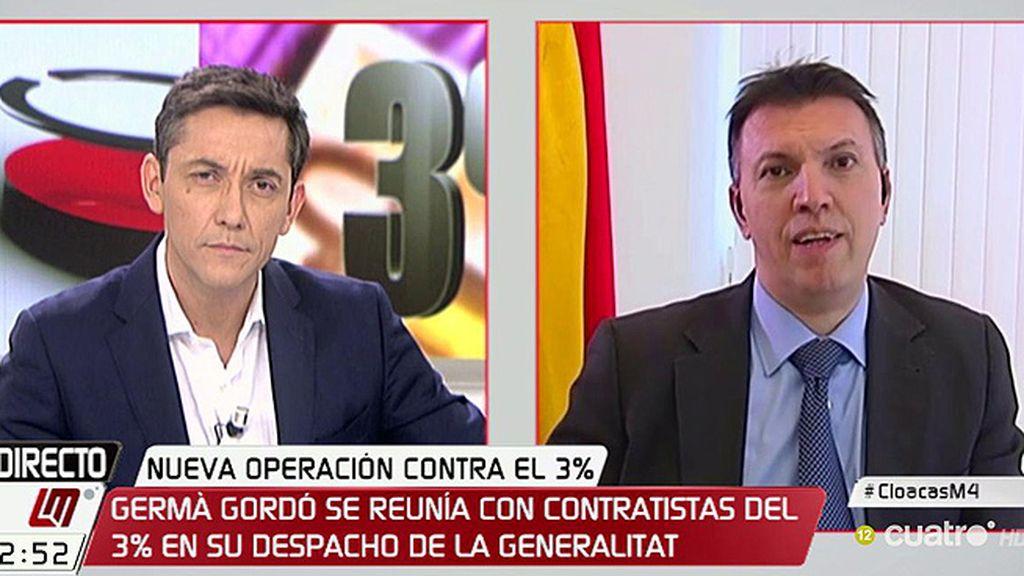 """J. Bosch: """"Las investigaciones por corrupción en Cataluña son judiciales y no políticas"""""""