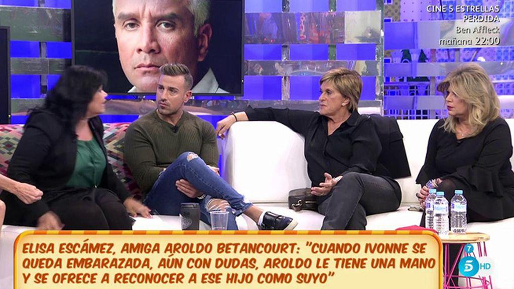 """Terelu: """"Ivonne Reyes le dijo a Aroldo Betancourt que no era el padre de su hijo"""""""