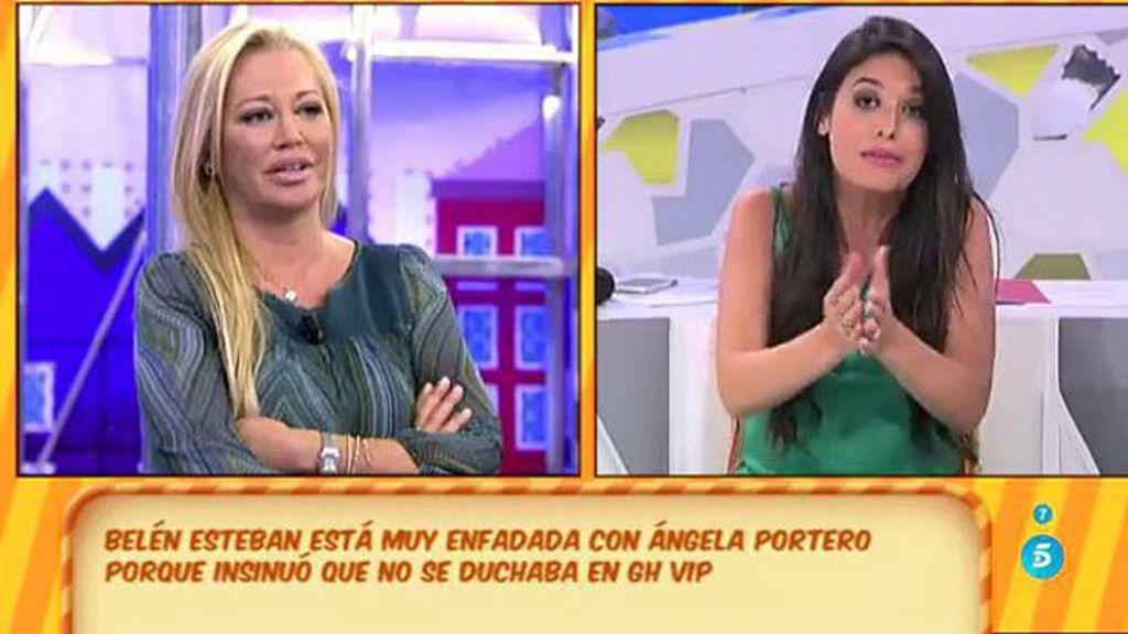 Ares Teixido defiende a Belén Esteban ante la polémica de si se duchaba en 'GH'
