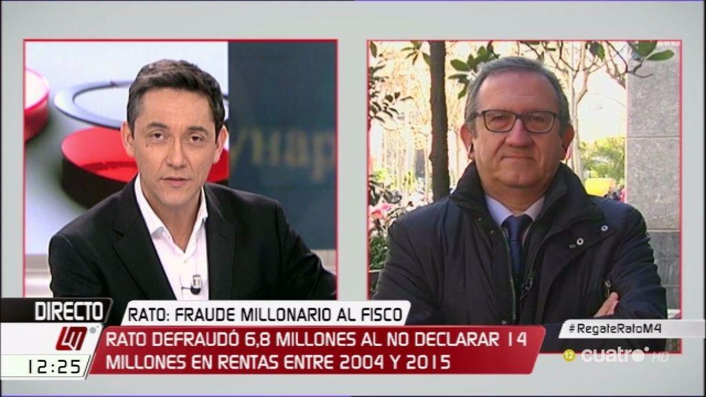 """Carlos Cruzado: """"Rodrigo Rato tendría hasta seis años de cárcel por cada delito"""""""