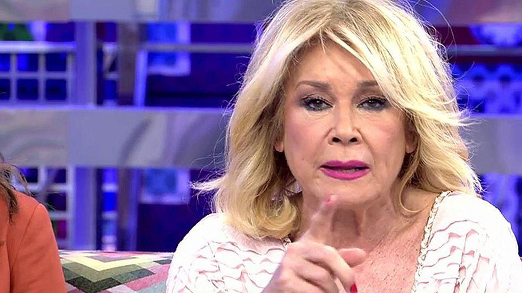 "Mila Ximénez, a Toño Sanchís: ""Pon la demanda, que eres muy pesado"""
