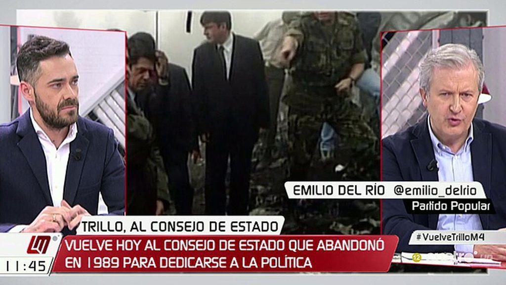 """Emilio del Río, del Yak-42: """"Me parece lamentable querer utilizar el dolor de las víctimas desde un punto de vista político"""""""
