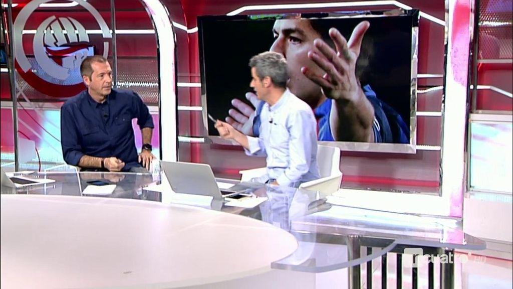 """Suárez, impotente pero realista: """"Es casi imposible que me quiten la amarilla"""""""