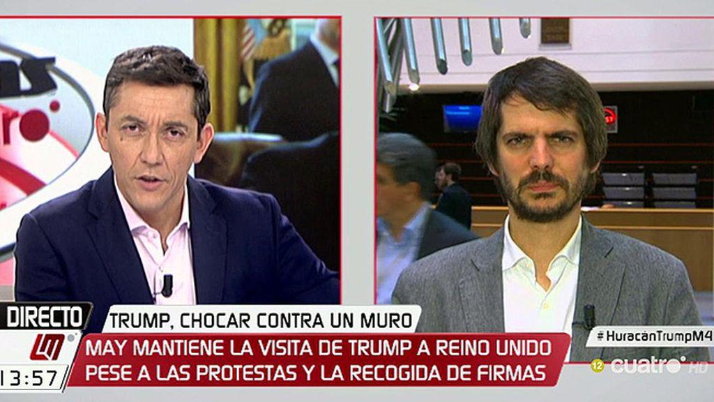 """Urtasun, sobre Trump: """"Las primeras señales del gobierno español son muy preocupantes"""""""