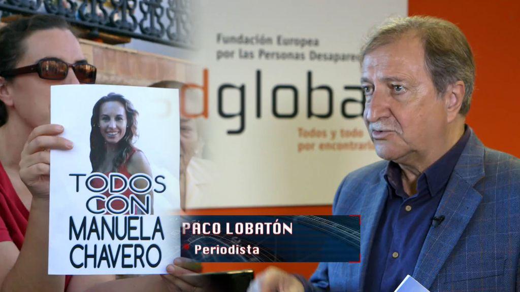 Paco Lobatón, ayuda clave en la desaparición de Manuela Chavero