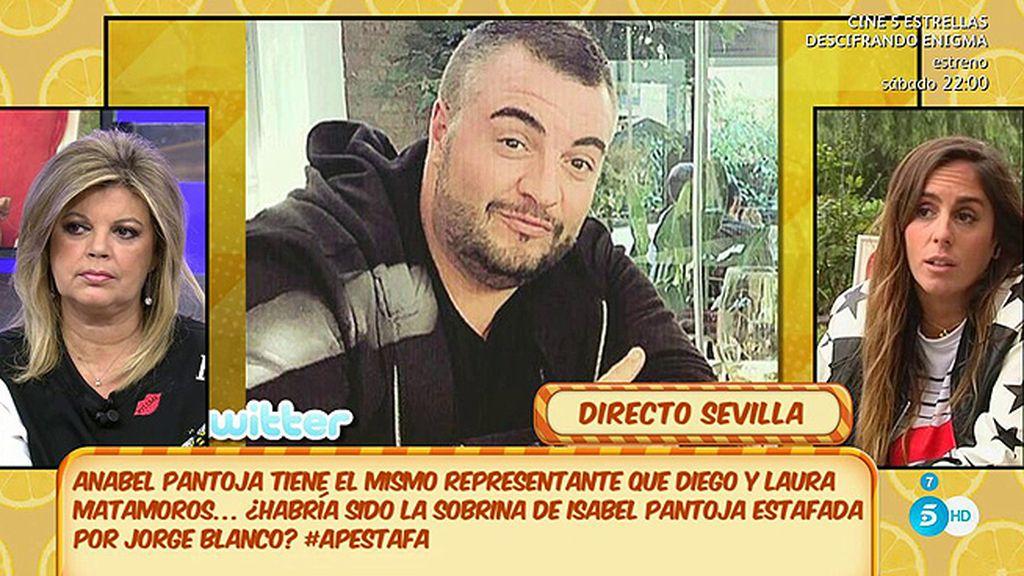 """Anabel Pantoja, tras la polémica de su representante con Diego y Laura Matamoros: """"Me consigue trabajo y me paga"""""""