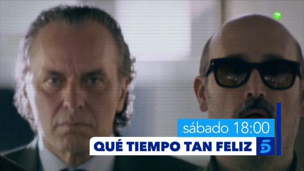 José Coronado y Javier Cámara visitan 'Qué tiempo tan feliz' este sábado a las 18 horas