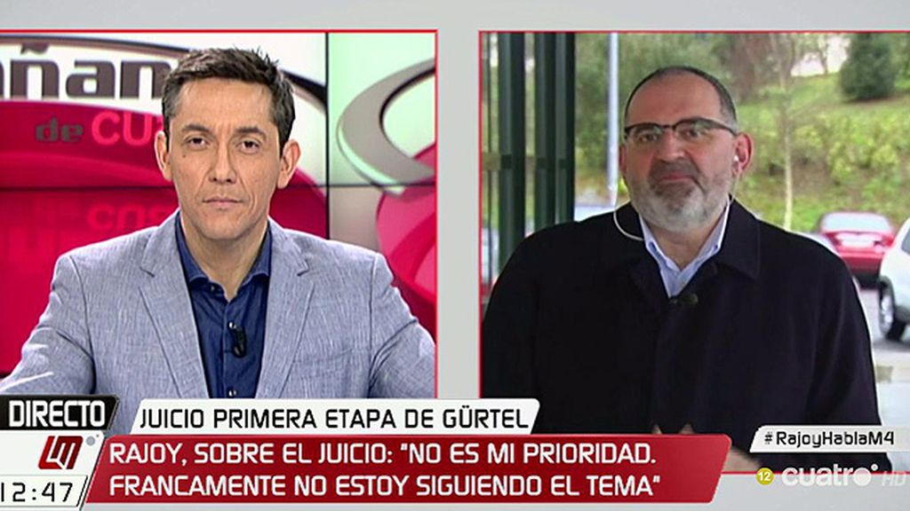 """Antón Losada: """"Rajoy tiene una capacidad asombrosa para colarnos la misma bola """""""
