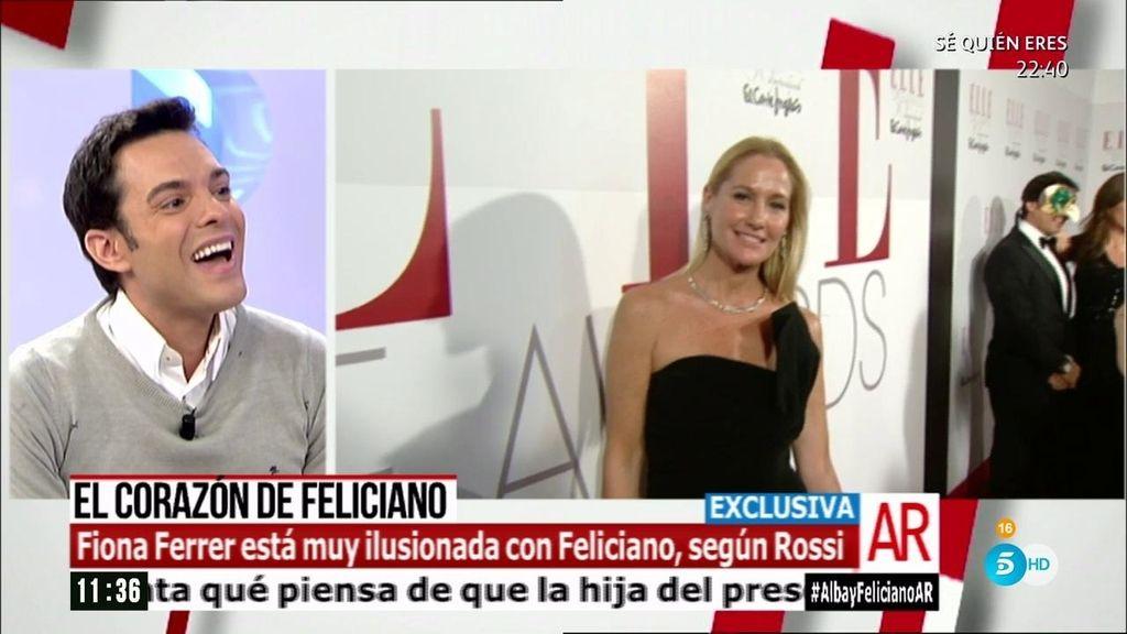 """Antonio Rossi: """"Fiona Ferrer está muy ilusionada con Feliciano López"""""""