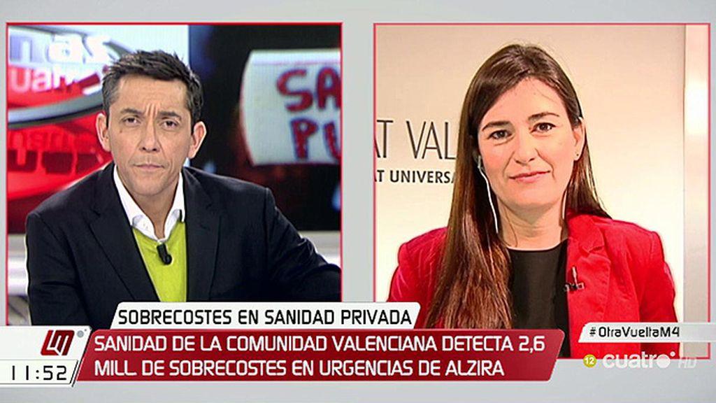 """Carmen Montón: """"Vamos a defender cada céntimo de los valencianos"""""""