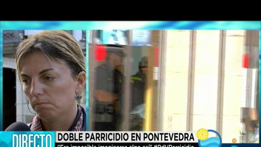 """María Luisa Piñeiro, alcaldesa de Moraña: """"Es horroroso. No lo entendemos"""""""