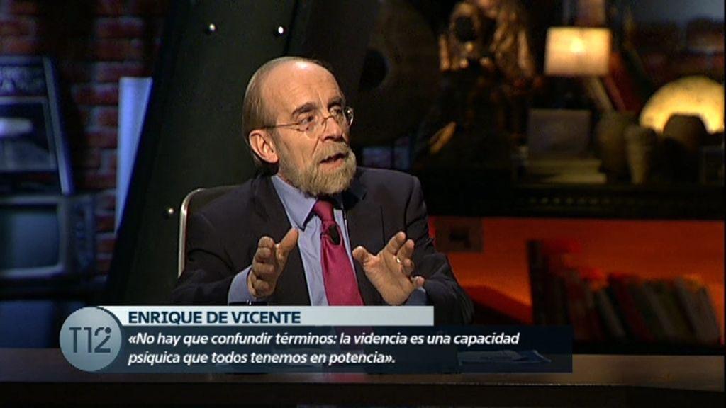 Enrique de Vicente: \