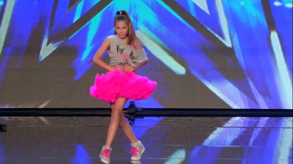 Daniela Belasco consigue pleno con su estilo de 'hip hop urban dance'
