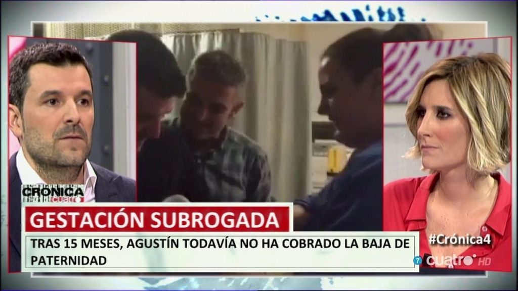 """Agustín Pérez: """"Por primera vez se nos reconocen los mismos derechos que otro padre o madre en una baja por maternidad"""""""