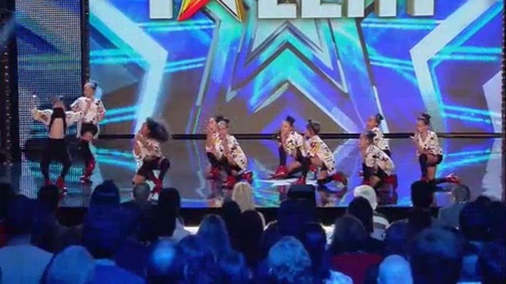 """'Lil Peanuts Dance Group', actitud encima del escenario: """"¡Esto es 'Got Talent'!"""""""