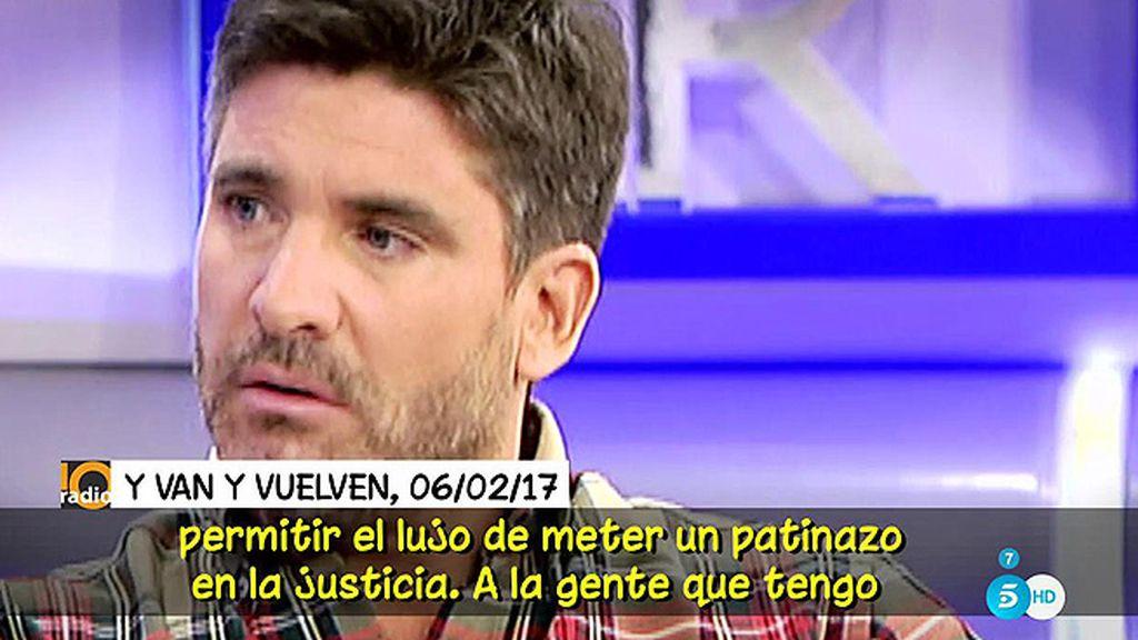 """Toño Sanchís: """"He demandado a Kiko H. y Mila Ximénez, a quien sé que voy a ganar"""""""