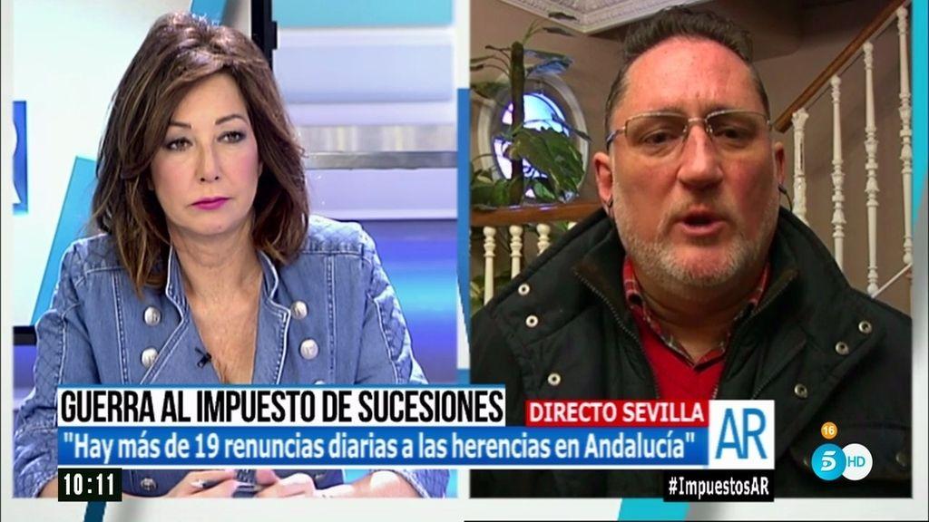 """Juan Carlos: """"El impuesto de sucesión en Andalucía es un expolio institucional"""""""