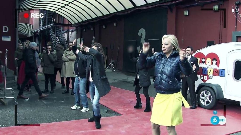 """'Sálvame in love': Así se grabó el """"infierno"""" del exitoso flashmob"""