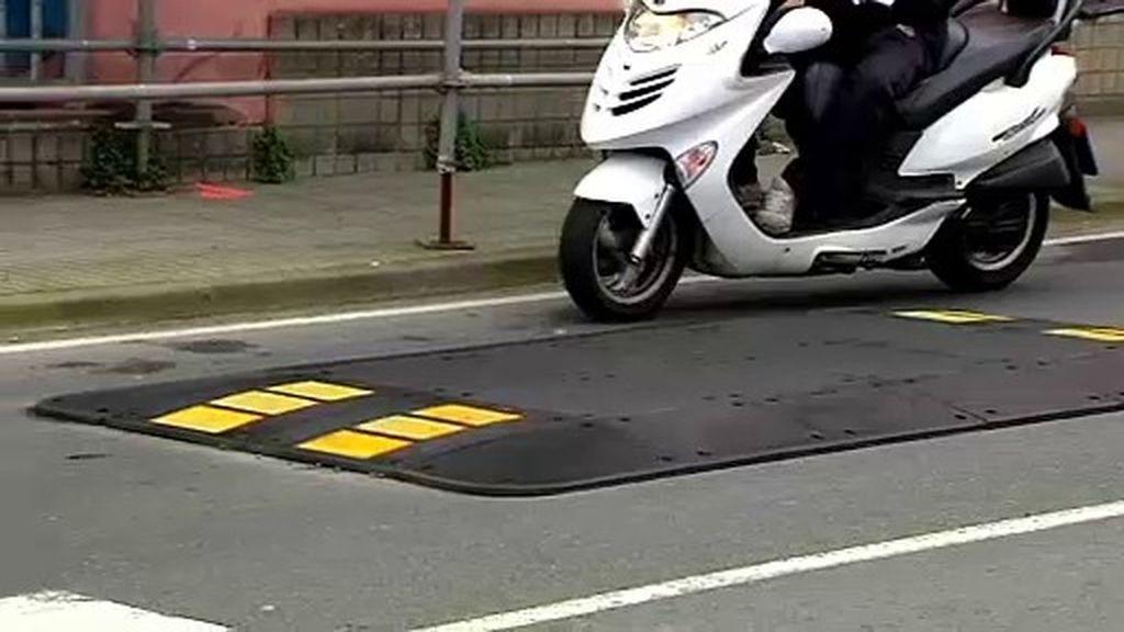 Cojines berlineses, un peligro para las motos