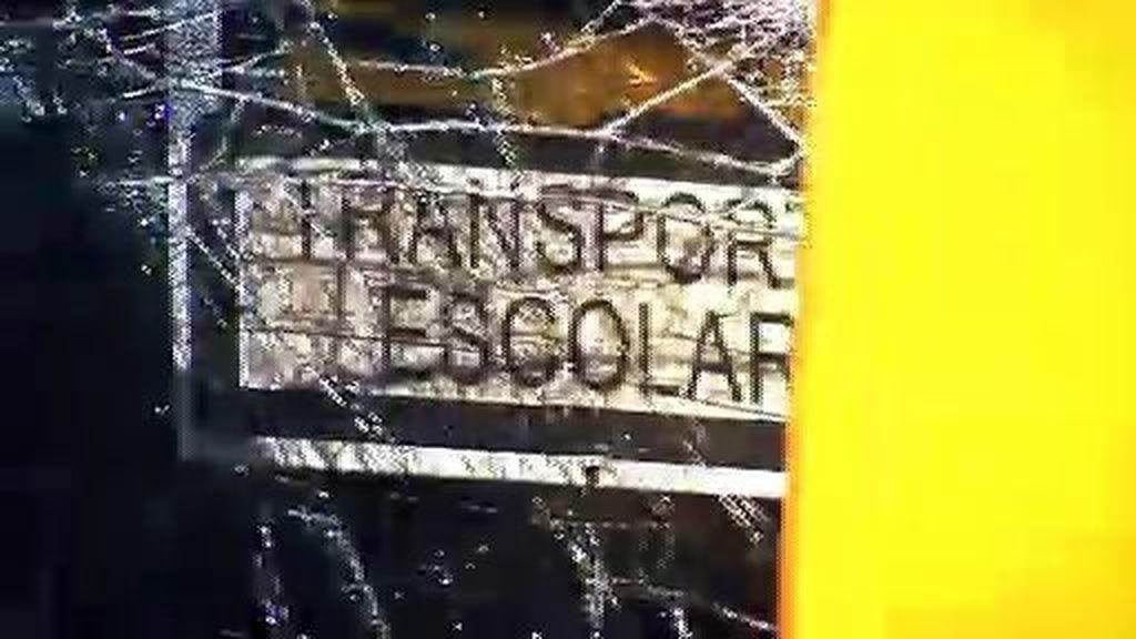 En libertad con cargos el conductor del autobús accidentado en Fuenlabrada