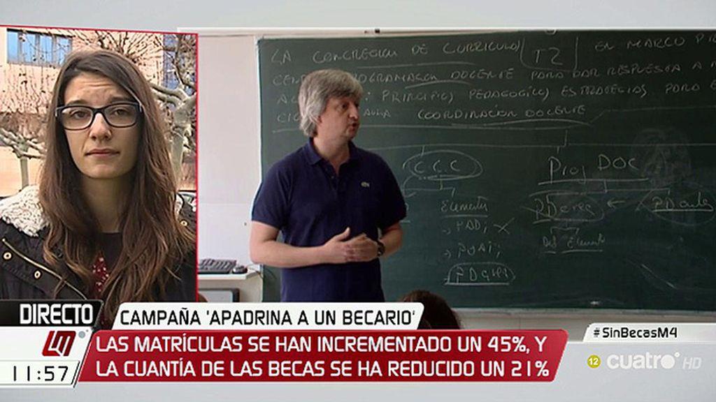 Ilda Mar Martín consigue dinero para estudiar con la iniciativa 'Apadrine un becario'