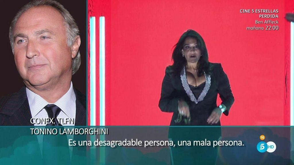 El padre de Elettra Lamborghini vuelve a la carga a través de una llamada telefónica