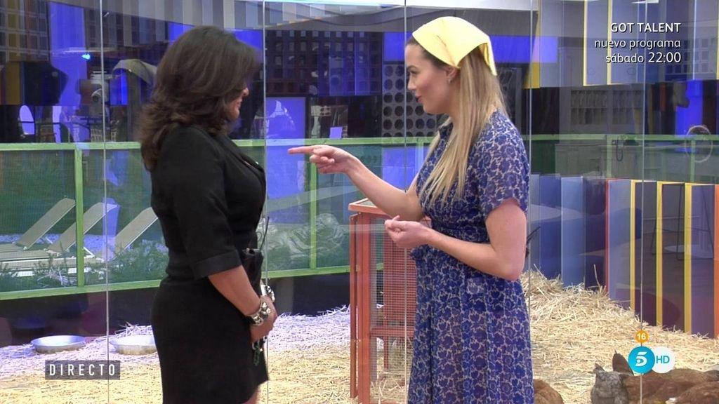 Alyson confunde a Aída con Maite Galdeano
