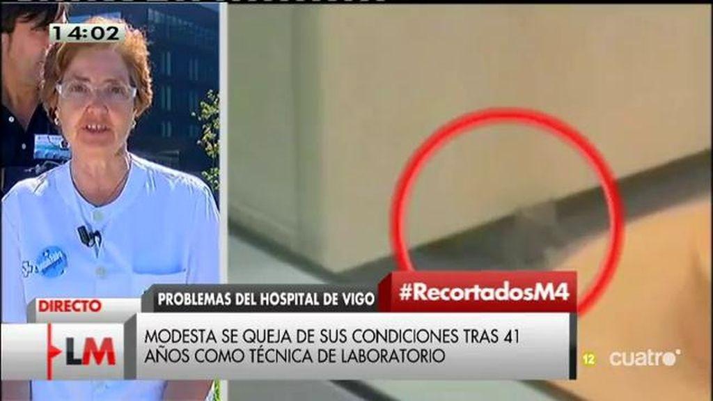 El hospital de Vigo no tiene laboratorio y han recortado un 31% las camas previstas