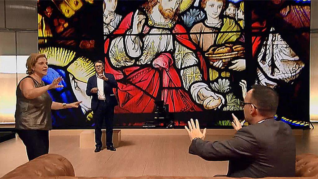 """Juan se empala por amor a Dios y Rahola opina: """"No es amor, es sadomasoquismo"""""""