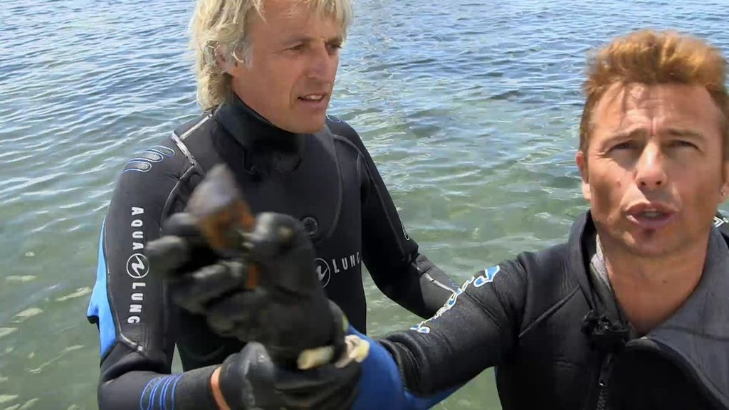 """El momentazo de Calleja con un pescador: """"No hables a la cámara que presento yo"""""""
