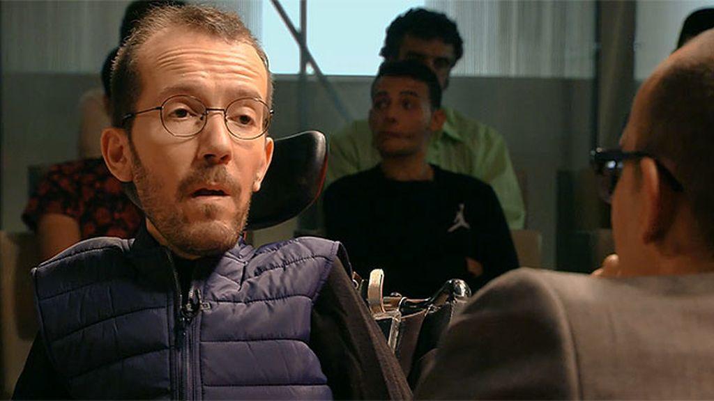 """Risto Mejide, a Pablo Echenique: """"¿Pagar a tu asistente en negro es dar ejemplo?"""""""