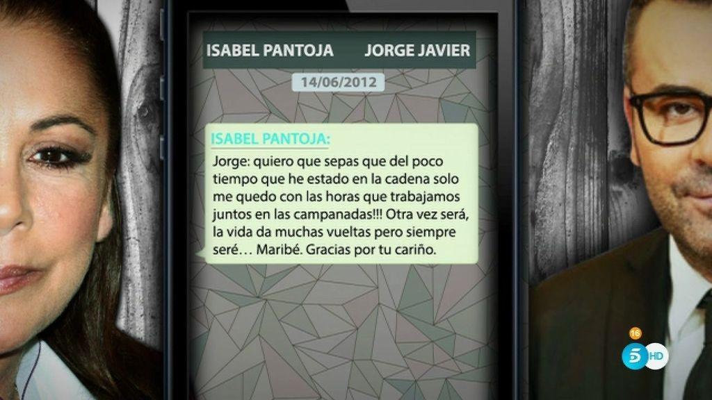 """Isabel Pantoja, a Jorge Javier: """"No permitas que hagan mucho daño a Kiko"""""""