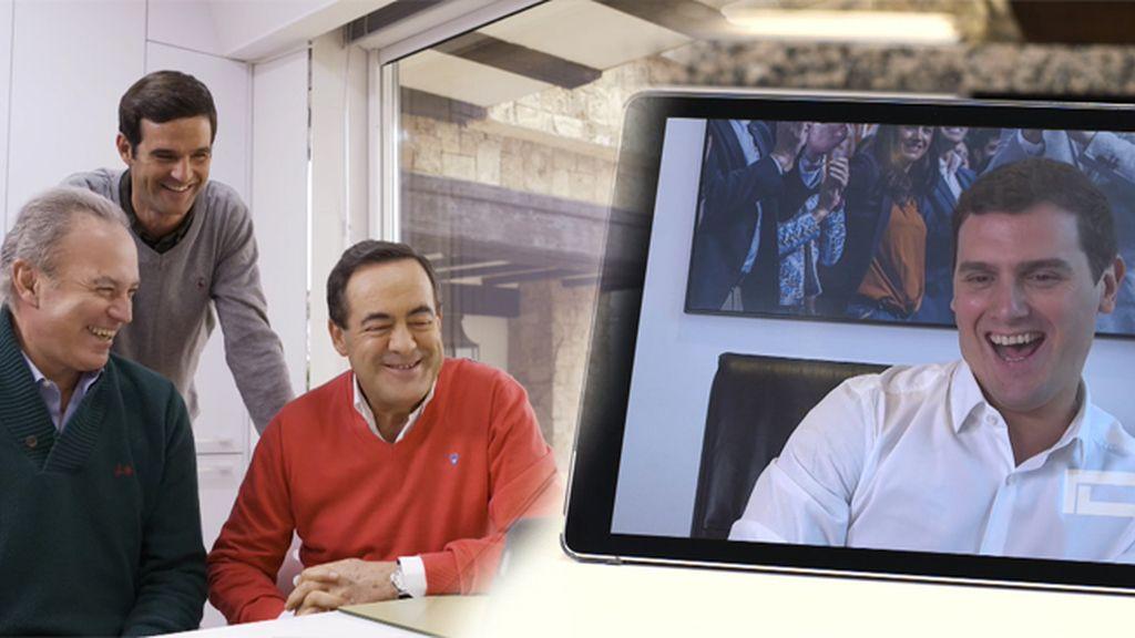 La respuesta de Albert Rivera al apoyo del hijo de Bono en las últimas elecciones