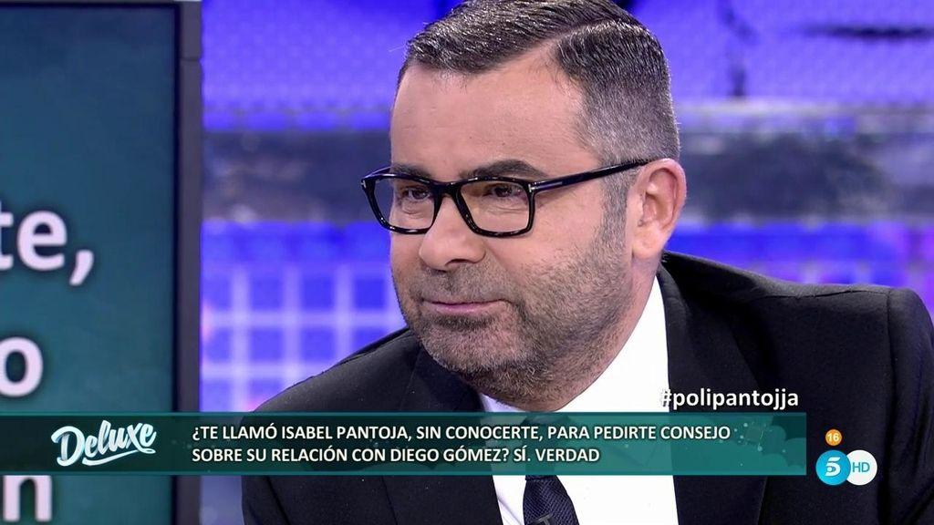 """Isabel Pantoja, a Jorge Javier Vázquez: """"Si tú me dices que deje a Diego Gómez, le dejo"""""""