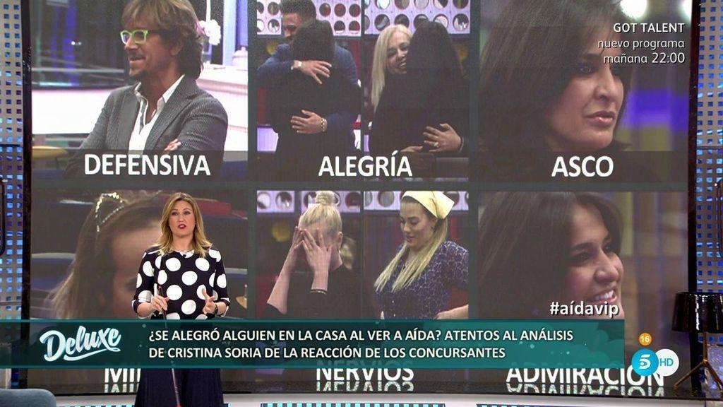 """Cristina Soria: """"Aless Gibaja es el único que tuvo miedo a tu hija, fue muy falso"""""""